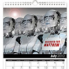 Personalized Science Fiction Calendar