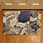 Personalized Family Rocks Doormat