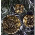 Mercury Glass Solar Globes
