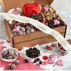 Sweets For Your Sweetie Gift Box with Personalized Ribbon