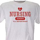 Nursing TLC Personalized Nurse T-Shirt