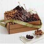 Chocolate Bliss Box with Get Well Ribbon