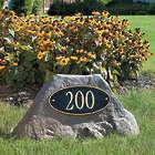 Personalized Boulder Address Sign