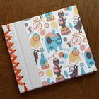 Baby's First Memory Book with Circus Design