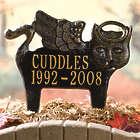 Personalized Cat Angel Pet Memorial Marker