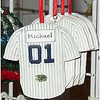 NY Yankees Baseball Jersey Ornament