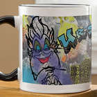 Ursula from The Little Mermaid Personalized Coffee Mug