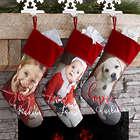 Custom Photo Memories Christmas Stocking
