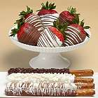Caramel Pretzels and Swizzled Berries