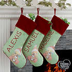 Precious Moments Baby Personalized Stocking