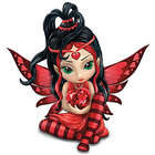 Women's Heart Health Support Love Fairy Figurine