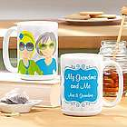 Personalized Woman to Woman Relationship Mug