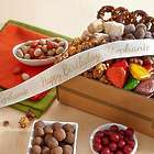Autumn Chocolate Bliss Gift Box with Personalized Ribbon