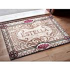Floral Oriental Personalized Doormat