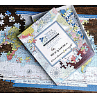 Personalized World Map Puzzle