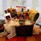 Caramel and Cream Bliss Spa Gift Basket