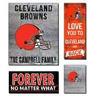 Personalized Cleveland Browns Love Mega Canvas Prints