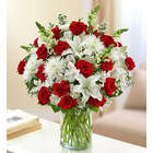 Sincerest Sorrow Red and White Bouquet