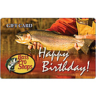 Bass Pro Traditional Happy Birthday! Gift Card