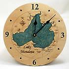 Lake Mendota Wall Clock