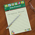 Teacher's Little Learners Personalized Notepad