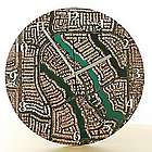 My Town Aerial Photo Clock