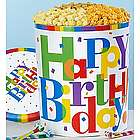 Big Happy Birthday 3 Flavor Popcorn Tin