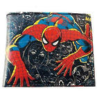 Marvel Comics Spiderman Wallet with Zippered Compartment