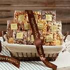 Snack Attack Gift Basket with Father's Day Ribbon
