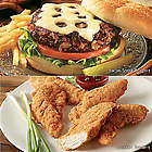 Chicken Strips and Bacon Steak Burgers Value Pack