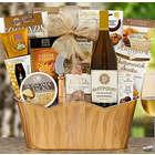 Barrel Hoops Chardonnay Bon Appetit Gift Basket