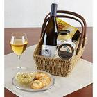 Chardonnay Wine Country Escape Gift Basket