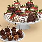Father's Day 10 Cherries & 12 Chocolate Covered Strawberries