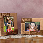 Personalized Mom Wooden Picture Frame