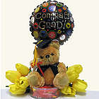 Congrats Grad Bear and Balloon Gift Set