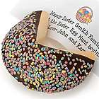 Giant Confetti Easter Egg Personalized Fortune Cookie