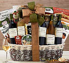 Cliffside Vineyards California Wine Collection Gift Basket