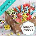 Sweet Surprises Birthday Gift Box with Personalized Ribbon