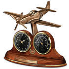 P-51 Mustang Tabletop Clock