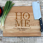 Home Family Name Engraved Personalized Cutting Board