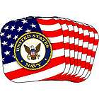 US Navy Stars and Stripes Coasters