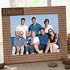 Custom Wood Picture Frame