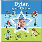 Blue I'm An All-Star Personalized Book