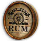 Personalized Rum Quarter Barrel Sign