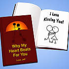 Personalized Marriage Proposal Book