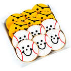 6 Pirate and 6 Baseball Smiley Cookies Gift Box