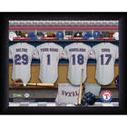 Personalized Texas Rangers Locker Room Print