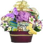 Wonderfully Wacky Woman Book Gift Basket