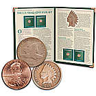 U.S. Small Cent Types Collectible Coins