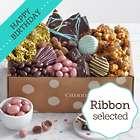 Chocolate Birthday Bliss Box with Birthday Ribbon